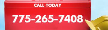 Call 775-265-7408 for roofing service
